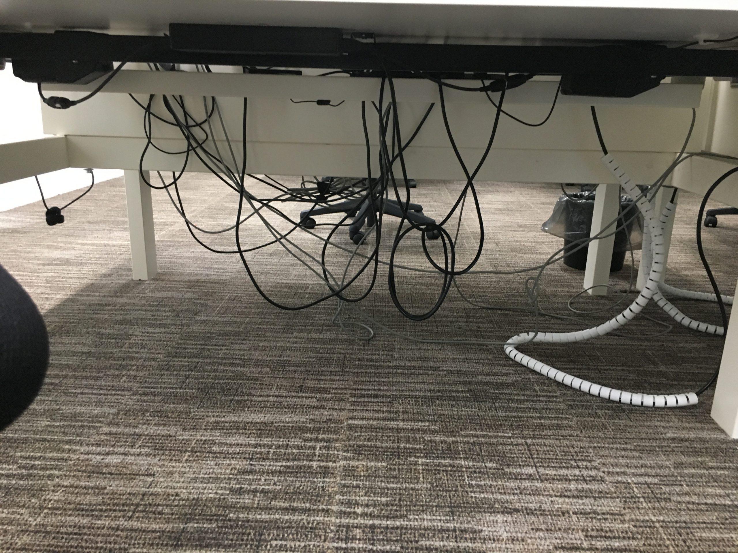 Slordige kabels